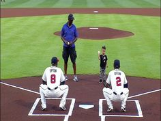 Upton family's first pitch