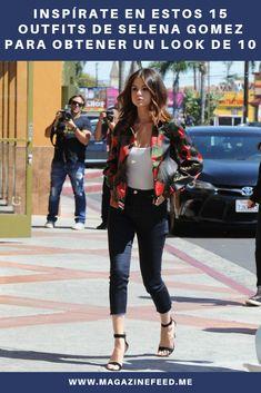 Para los días en que hace mucho viento, usa una leather jacket con detalles para suavizar tu look y que se vea súper femenino. Kendall Jenner, Justin Bieber, Selena Gomez, Casual Outfits, Chic, Clothes, Style, Fashion, Teenage Makeup