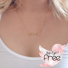 SAN FRANCISCO Skyline Necklace PLEASE MESSAGE ME TO PURCHASE I will create a new listing for you    San Francisco Skyline Necklace  18K Gold Plated   BUY 2 GET 1 FREE RagTrade Jewelry Necklaces