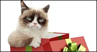 Happy holidays? No such thing. Have a very grumpy holiday.