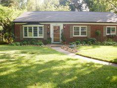 9 best brick ranch houses images brick exteriors country homes rh pinterest com