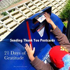 The Good Long Road: Teaching Gratitude #3: Mama Learns {21 Days of Gratitude}