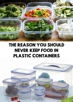 We all have at least one food container in our kitchen, but did you know the dangers of using them? The Reason You Should Never Keep Food in Plastic Containers!