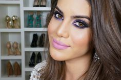 Colorful smokey eye for New Years! by @Camilacfcoelho
