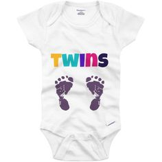 Twins Creeper Infant Onesie: Gifts for all occasions