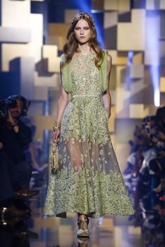 Elie Saab Haute Couture Fall Winter 2015 Collection @Maysociety