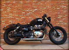 2004 Triumph America bobber.