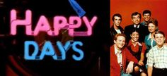 Sunday, Monday Happy Days, Tuesday Wednesday, Happy Days..... couldn't wait each week to watch Happy Days!