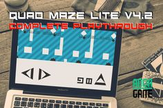 Quad Maze Lite V4.2 - Complete Playthrough