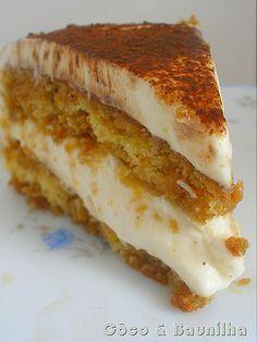 Bolo Tiramisú        #bolo #cake #tiramisú                                                                                                                                                                                 Mais