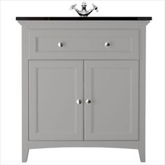 Savoy Gun Metal Grey furniture - Bathstore.com