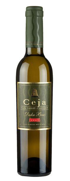 "Ceja ""Dulce Beso"" Late Harvest Dessert Wine. Yummm..."