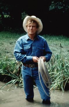 """""""The Horse Whisperer"""", 1998 ~ Starred in and directed by Robert Redford Hollywood Men, Hooray For Hollywood, Robert Redford Movies, The Horse Whisperer, Sam Elliott, Gorgeous Men, Movie Stars, Actors & Actresses, Handsome"""