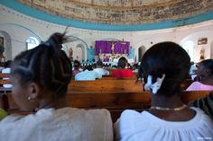 This July we are celebrating Milot, home of Hôpital Sacré Coeur! Built in 1804, Our Lady of the Immaculate Conception Church in Milot is one of the oldest churches in Haiti. Designed in classic Basilica style, the distinctive, beautiful dome routinely draws awe-filled appreciation whether viewed from inside the sanctuary or from a distance. As you can see in these photos by photographers Patti Gabriel and Nathan MacFarland, this Church is a lovely landmark in Milot.
