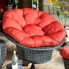 Haven All Weather Wicker Outdoor Papasan Chair, $231