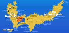 Islas Cíes  vía campingislascies.com