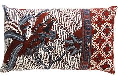 Indonesian Batik Pillow