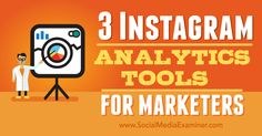 instagram analytics tools for marketers