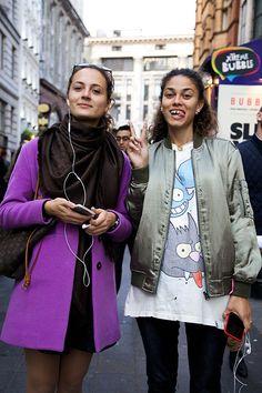 MODA LONDINENSE: Steet style - Fashion Radicals