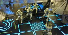 Send 3 squads to help! Kickstarter coming tomorrow!! #LaserTerrain #imperialassault #starwarslegion