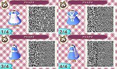 blue apron dress