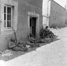 Carentan France, June 1944 From the LIFE Magazine Archives - Bob Landry Photographer Kilroy Was Here, Ww2 Tanks, Paratrooper, Korean War, D Day, Normandy, Life Magazine, Vietnam War, Us Army