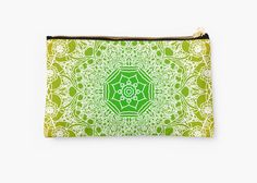 fluorescent mandala pattern by Argunika