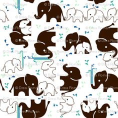 Some how elephants will be included to my childs nursery!