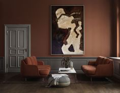 Create warmth and comfort with autumnal hues in interiors this season. Think terracotta, russet, burnt orange, ochre, mustard, and blush pink. These earthy tones are a great way to create a grounded feel in your home and to make it feel extra cosy.  #earthycolours #autumncolours #homeinteriors #autumndecor Fritz Hansen, Dark Interiors, Colorful Interiors, Color Terracota, Wall Colors, Colours, Decoration Photo, Interior Architecture, Interior Design