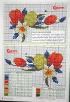 """Gallery.ru / arine2208 - Альбом """"4"""" Cross Stitch Borders, Cross Stitch Patterns, Easter Tablecloth, Easter Cross, Happy Easter, Projects To Try, Kids Rugs, Embroidery, Clay"""