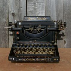 Your place to buy and sell all things handmade Modern Typewriter, Antique Typewriter, Arrow Design, Vintage Typewriters, Going Out Of Business, Vintage Decor, Vintage Stuff, Vintage Photos, Nostalgia