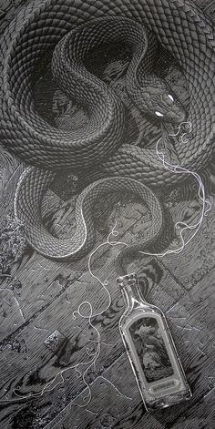 The Siren by Aaron Horkey