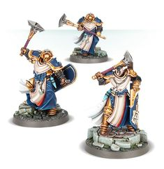 Warhammer Age of Sigmar Stormcast Eternals Knight-Incantor with warscroll Warhammer Aos, Warhammer Models, Warhammer Fantasy, Stormcast Eternals, Magazine Contents, Game Workshop, Games, Easy, Warriors