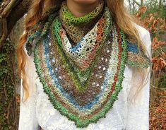 Ravelry: Fern Lace Shawl pattern by Michele DuNaier $4.00