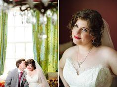 Vandiver Inn Wedding | Becky + Devin, Bridal Artistry, red lipstick on your wedding day