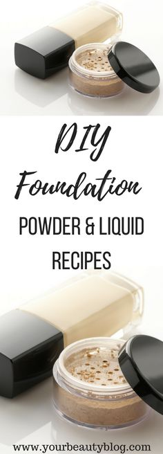 DIY Foundation Recipe Powder and Liquid - Everything Pretty