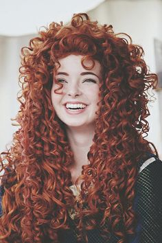 @Ashley Walters Walters Morton You totally look like Merida. XD