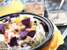 ※豆乳バーニャカウダも! 奈良県産ヤマトポークと季節の野菜チーズミルフィーユタジン鍋  | プロから学ぶ簡単家庭料理 シェフごはん
