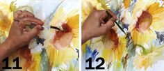 How to perfect wet-in-wet watercolour - Fábio Cembranelli is one of Brazil's leading watercolour artists. Here he shows you a simple method f...