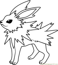 ... Pokemon Coloring Pages. Pichus. See More. Jolteon