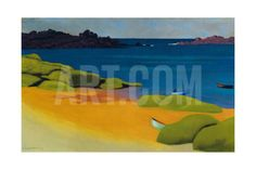 Bay at Tregastel, 1917 Giclee Print by Félix Vallotton at Art.co.uk