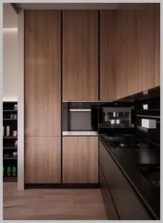 Minimalist and Modern Kitchen Decor You Will Love It - Home Decor Interior Kitchen Room Design, Modern Kitchen Design, Home Decor Kitchen, Interior Design Kitchen, Kitchen Furniture, Kitchen Ideas, Diy Kitchen, Wood Furniture, Kitchen Corner