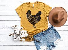 Cute Country Outfits, Farm Outfits, Farm Fashion, Farm Clothes, Kindergarten Shirts, Custom Tees, School Shirts, Shirt Shop, Outfits For Teens