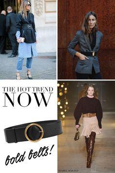 Hetken trendi: Voimakkaasti vyötetty - Strictly Style by Hanna Väyrynen Trending Now, Isabel Marant, Gucci, Style, Swag, Outfits