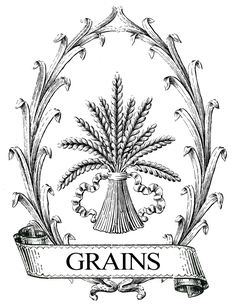 French Grain Sack Printable Image