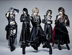 This is actually a band called Jupiter but it had all of the members except for Kamijo!!! And when I say 'Had' I mean that Yuki and Masashi have left and became part of Kamijo's support crew for his Solo career!!!! But I still love all of them!!!!!!!!
