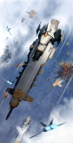 AMPHOPS : landing operations, IL KIM on ArtStation at https://www.artstation.com/artwork/WPgwD