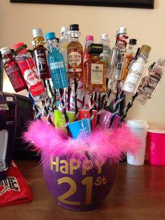 21st birthday idea!