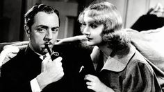 Dedicated to the one he loves. My Man Godfrey with William Powell and Carole Lombard.