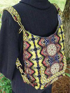 Cosmo Convertible Bag Sewing Pattern. Die Anleitung ist nicht mehr erhältlich.